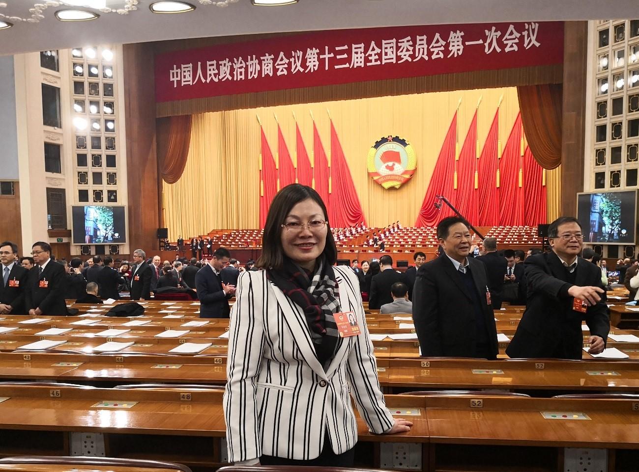 愿为国家和社会付出全力全情——记区政协常委郭媛媛