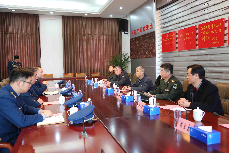 区政协主席刘宇走访慰问驻区部队