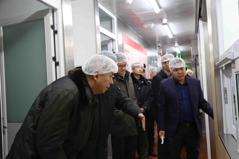 区政协主席刘宇进行节前安全检查