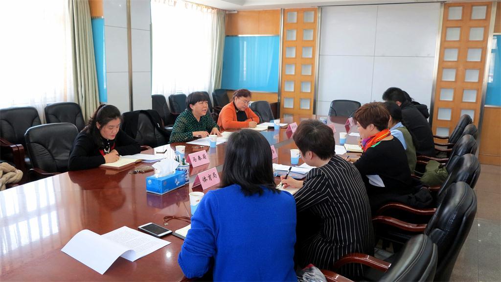 区政协召开2018年教文卫体委员会工作对口协商会